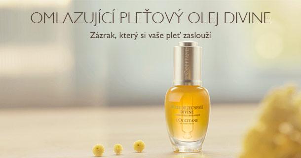 Omlazující pleťový olej Divine