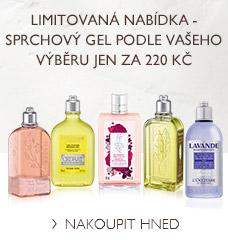 Sprchový gel podle vašeho výběru jen za 220 Kč