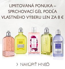 Sprchovací gél podľa vlastného výberu len za 8 €