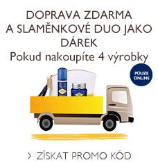 Doprava zdarma a Slaměnkové duo jako DÁREK