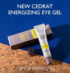 New cedrat energizing eye gel