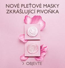 Nové pleťové masky Zkrášlující Pivoňka