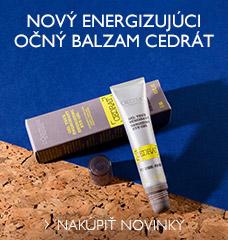 Nový Energizujúci očný balzam Cedrát