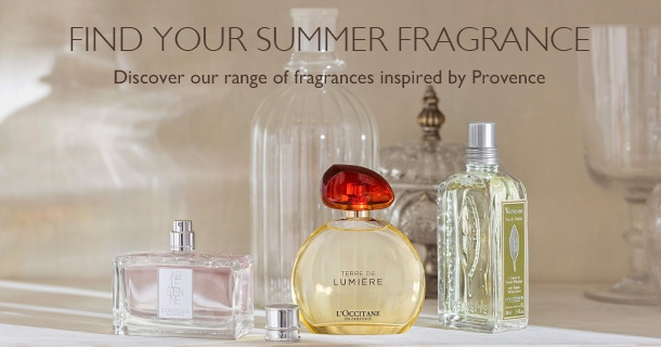 Find your summer fragrance