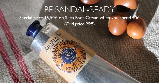 Be sandal-ready
