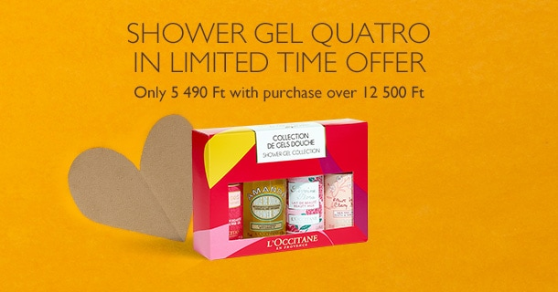 Shower Gel Quatro in Limited Time Offer