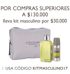 Kit masculino L'Occitane