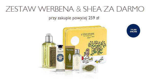 Zestaw Werbena & Shea za darmo
