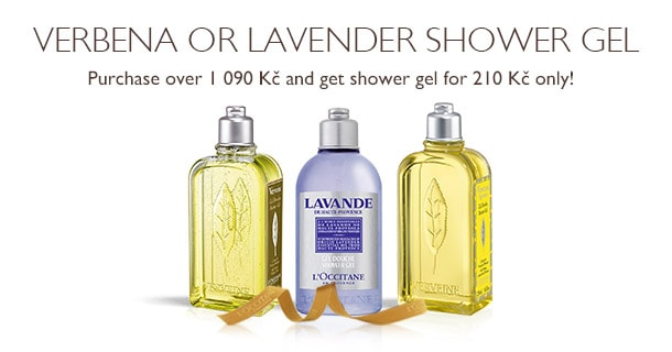 Verbena or Lavender Shower Gel