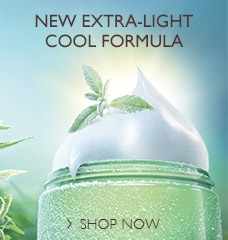New extra-light cool formula