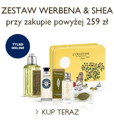 Zestaw Werbena & Shea