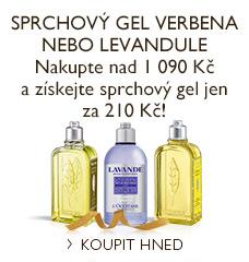 Sprchový gel Verbena nebo Levandule