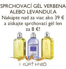 Sprchovací gél Verbena alebo Levanduľa