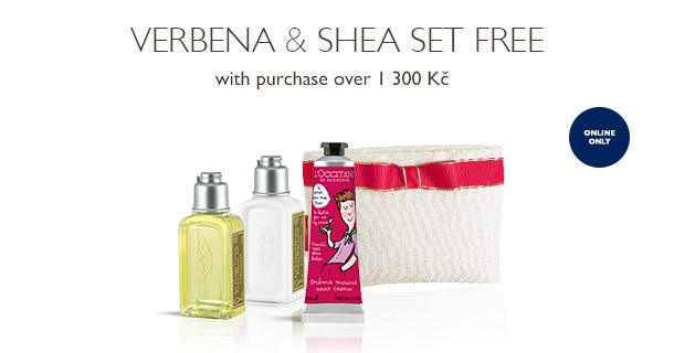 Verbena & Shea Set FREEe