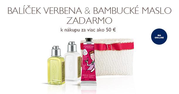 Balíček Verbena & Bambucké maslo ZADARMO