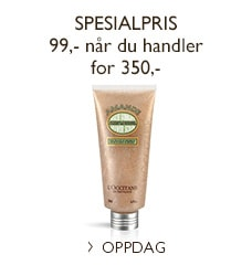 Spesialpris på Almond Shower Scrub