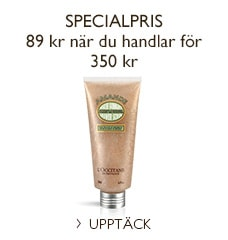 Specialpris på Almond Shower Scrub