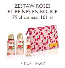 Zestaw Roses et Reines en Rouge
