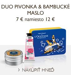 Duo Pivonka & Bambucké maslo