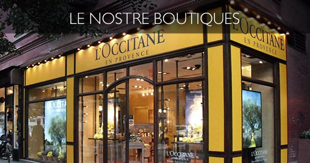 Boutique - L'Occitane en Provence