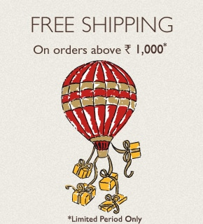 Free Shipping over Rs. 3,000