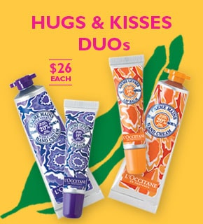 Hugs and kisses- duos $26 each