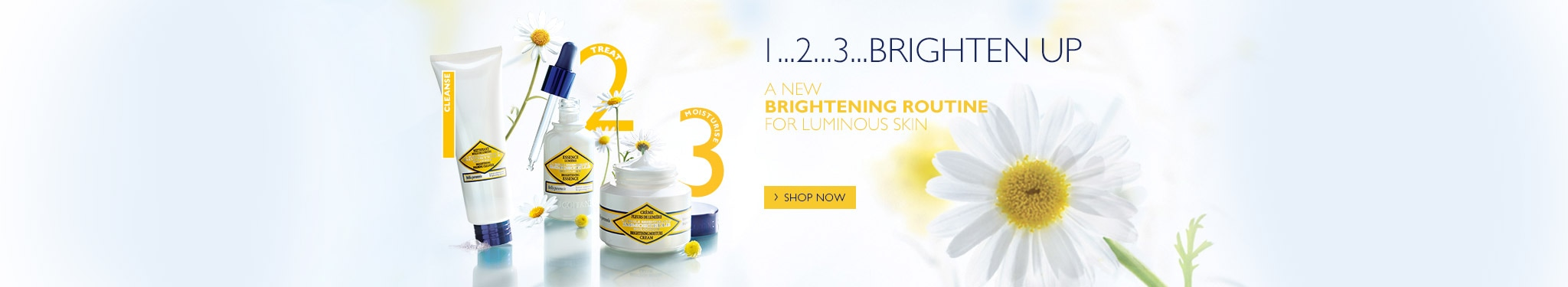 3 steps to lumious skin