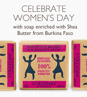 Women's Day Solidarity Soap Burkina Faso