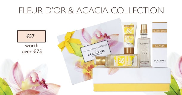 Fleur dor & Acacia Collection