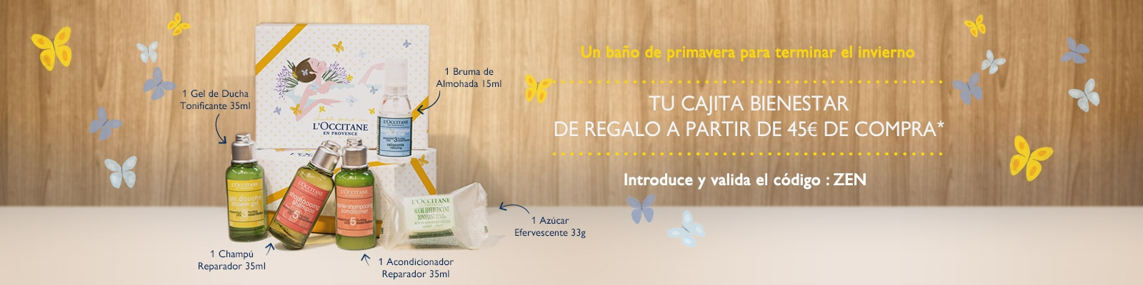 Offre Zen Box - L'Occitane France