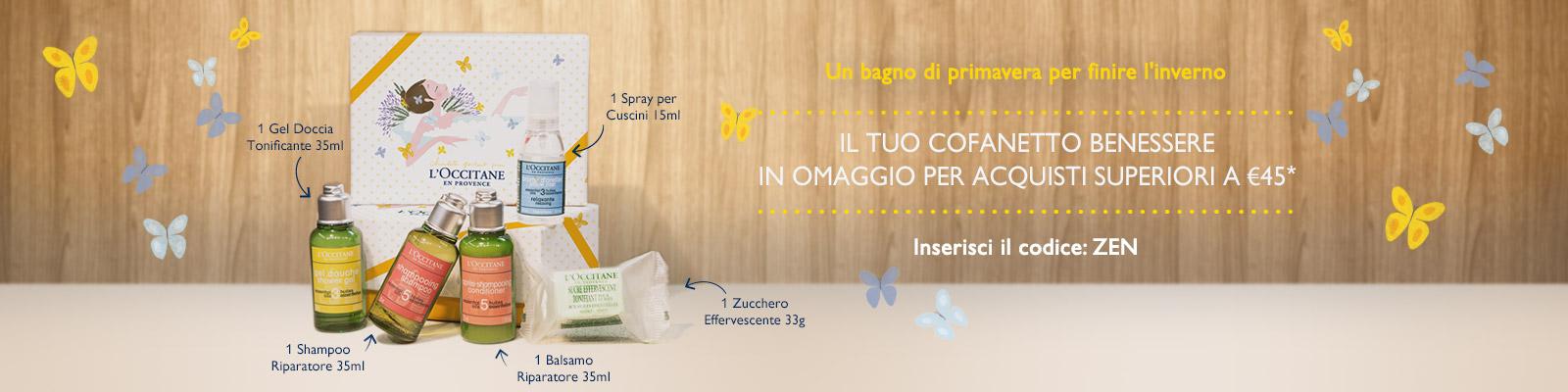 Offre Zen Box - L'Occitane