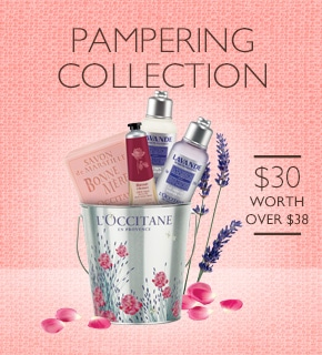 pampering collection $30 worth over $38