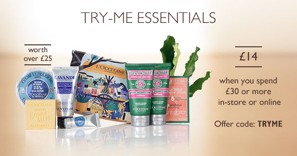 Try Me Essentials for £14