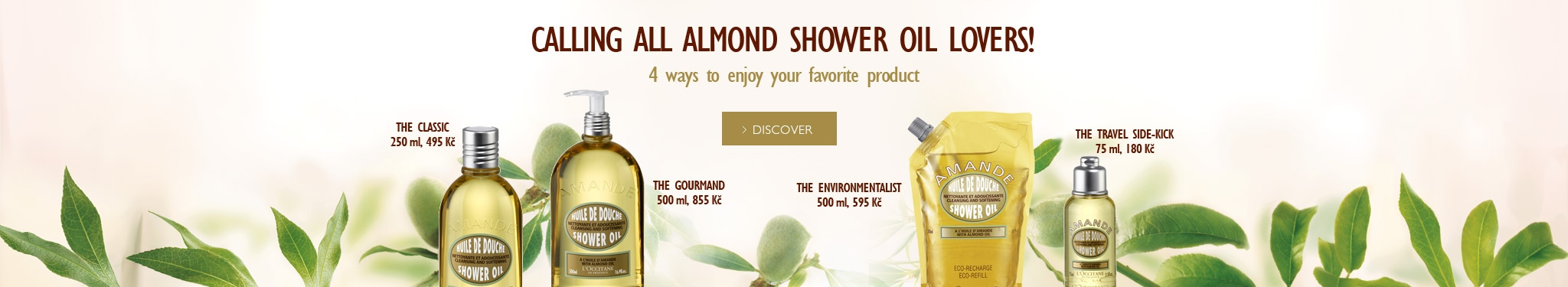 Calling all Almond Shower Oil Lovers!