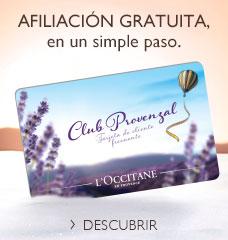 Únase al Club Provenzal de L'OCCITANE
