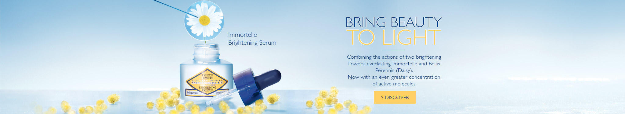 New Immortelle Serum