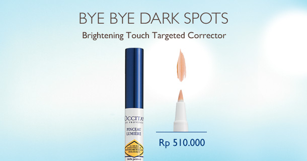 Bye Bye Dark Spots with Brightening Touch Targeted Corrector