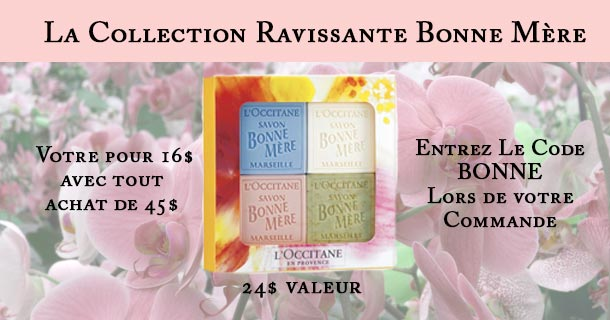Bonne Mere Soap Collection $18 with any purchase of $45