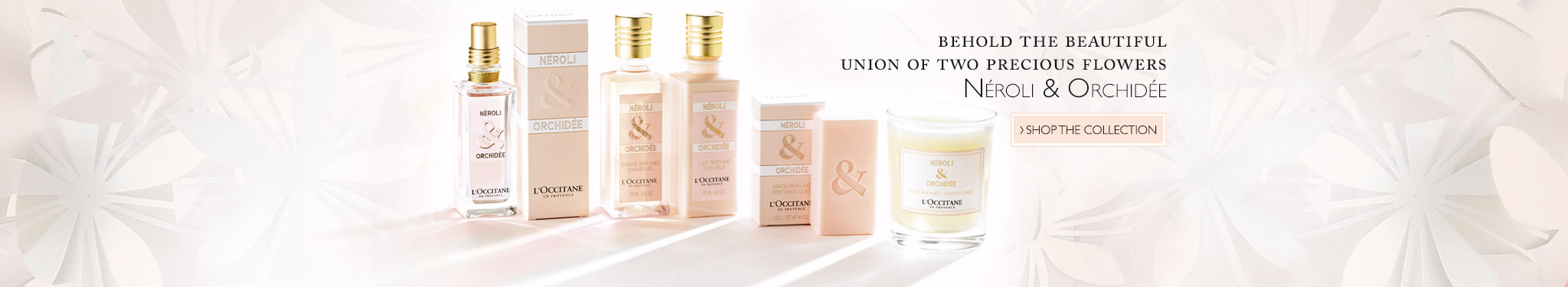 Neroli et Orchidee Collection