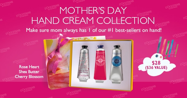 Mother's Day Hand Cream Collection - Make sure mom always has 1 of our #1 best-sellers on hand!