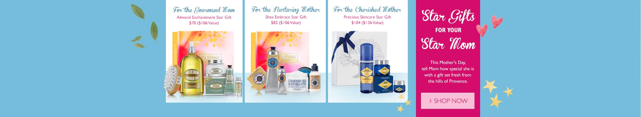 Mother's Day Collection Star Gifts Gift Sets