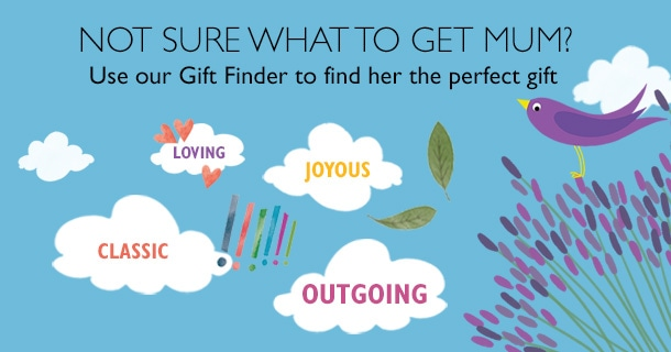 not sure what to get mum for mothers day- try our gift finder