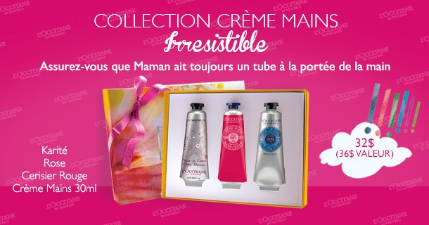 Mothers Day Irresistable Hand Cream Collection