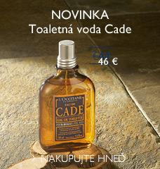 Toaletná voda Cade