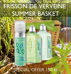 FRISSON DE VERVEINE SUMMER BASKET DISCOVERY SET
