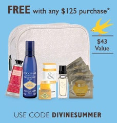 Free with any $125 purchase.  use code DIVINESUMMER