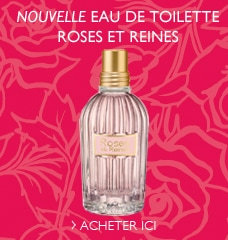Nouvelle Eau de Toilette Roses et Reines