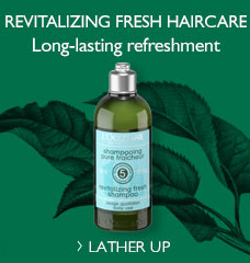 New Aromachologie Fresh Shampoo!