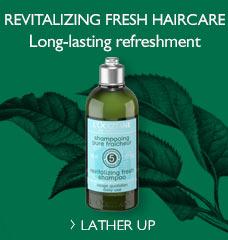 New Aromachologie Fresh Shampoo!