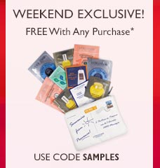 Weekend Exclusive.  Use code SAMPLES!